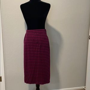 3/$15 or 5/$25 Old Navy Striped Pencil Skirt